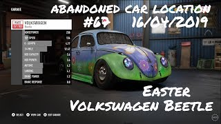 NFS Payback Abandoned Car Location #67// 16/04/2019 - Easter - VW Beetle