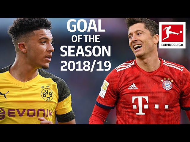 Best Goals 201819 - Vote for the Goal of the Season