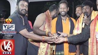 Ayyappa Swamula Maha Padayatra Continues For 36th Day | Secunderabad To Sabarimala