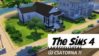Házátalakítás, ÚJ CSATORNA! - The Sims 4 | Speed Build