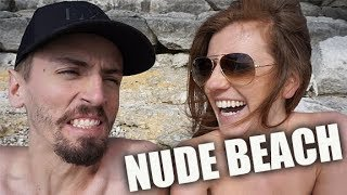 NUDE BEACH EXPERIENCE | FULL TIME RV LIVING + CYSTIC FIBROSIS (2-26-18)