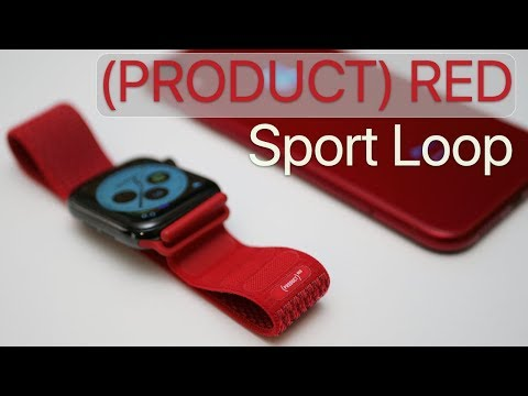 Product Red Sport Loop for Apple Watch - Review