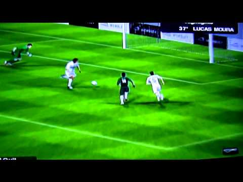 PES 2013 Wii Online Mode Brazil vs Portugal