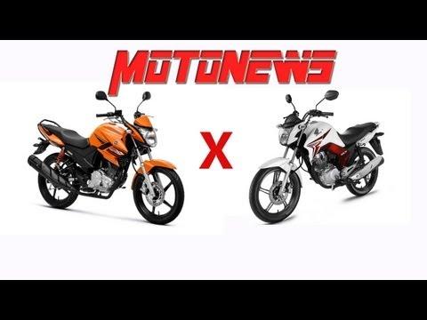 COMPARATIVO HONDA TITAN 2014 VS YAMAHA YS FAZER 150 - MOTONEWS