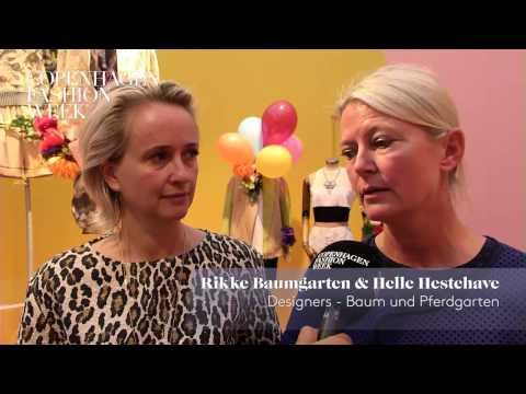 Rikke Baumgarten  Helle Hestehave, Designers, Baum und Pferdgarten – Interview SS14