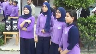 أغنية عن الأم في احتفالية عيد الأم بمدرسة هيئة قناة السويس الخاصة ببورفؤاد