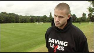 Wolves Striker  Michael Kightly talks about HIV testing