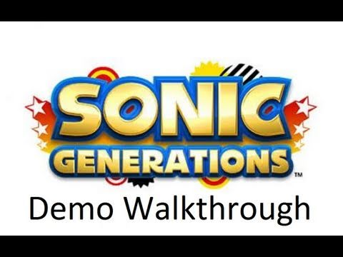 Sonic Generations Walkthrough + Giveaway [1080p HD] (PS3/XBOX 360/3DS) [Demo]