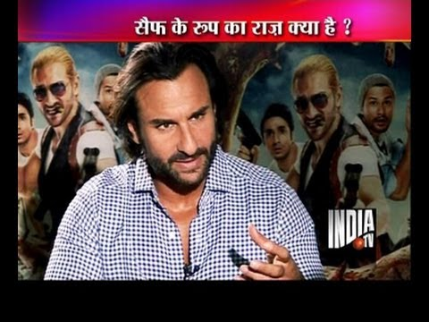 India TV interviews actor Saif Ali Khan for 'Go Goa Gone'