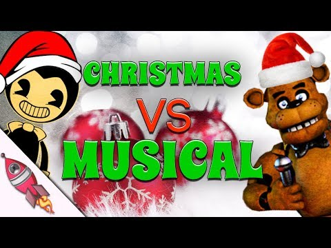 FNAF vs Bendy and the Ink Machine Christmas Musical | Rockit Gaming