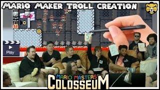 Mario Masters Colosseum: Super Mario Maker Level Creation Contest Barb Vs Glitchcat