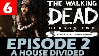 The Walking Dead Season 2 Episode 2 Walkthrough Part 6 A House Divided Let's Play 1080p