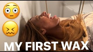 MY FIRST V-STEAM AND BRAZILIAN WAX!- SUPER SCARY