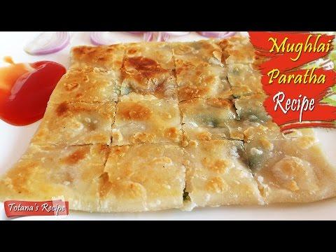 Mughlai Paratha Recipe | How To Make Mughlai Paratha | Bengali Food Recipe