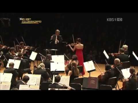 Oct.2012 / Clara-Jumi Kang / Violin Concerto in D Major, Op.35 / The Moscow Radio Symphony Orchestra