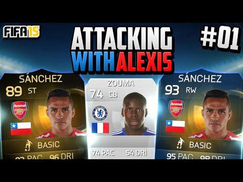 Fifa 15 RTG - Attacking with Alexis! #1 -
