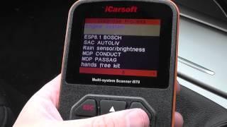 Citroen C4 Diagnostic Tool i970 iCarsoft