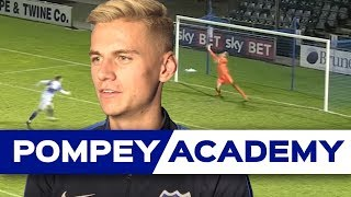 Alex Bass talks us through thrilling FA Youth Cup win at Bristol Rovers in 2015