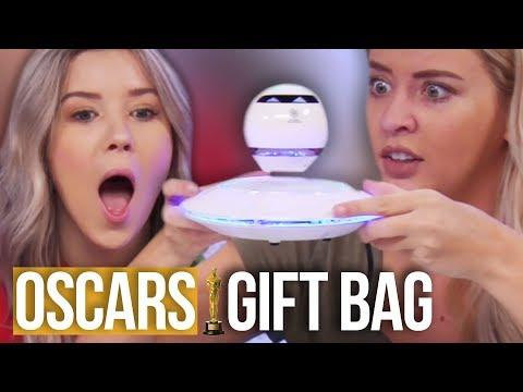 Opening the $100,000 OSCARS Gift Bag!! (Beauty Break)