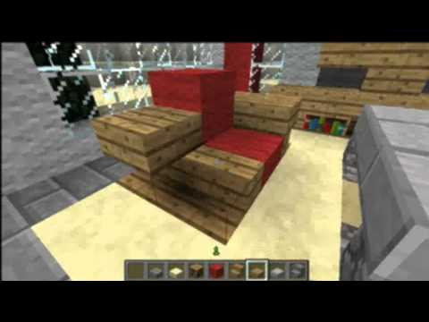 Minecraft living room design youtube for Living room ideas in minecraft