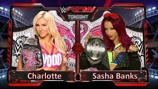 Wwe 2k15 - Sasha Banks Vs. Charlotte (for the Divas Champion)