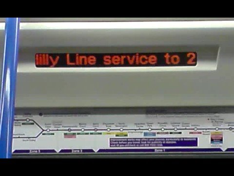 London Transport Time Travel