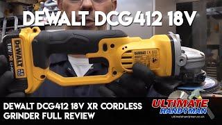 Dewalt DCG412 18V XR cordless grinder