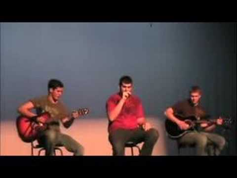 2008 Houston High School talent show- Fallen Soldier original song by Alex Cardell, Cale Harrington, and Nick Bogdanovic.