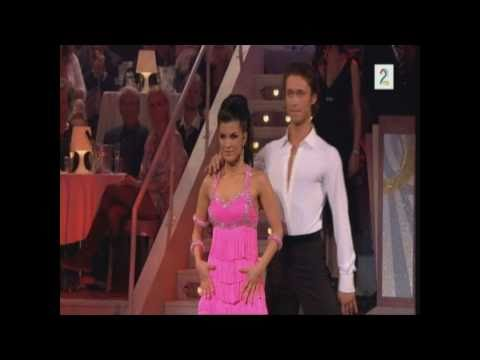 """Skal vi danse premieren 2010 """"Telephone"""" 6 6 6 6 = 24 poeng."""