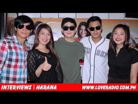 EXCLUSIVE: Marlo, Bryan, Joseph of HARANA, bumisita sa Love Radio!