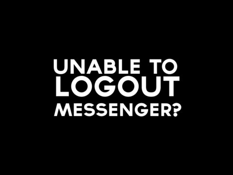Logout Facebook Messenger on Windows Phone 8.1
