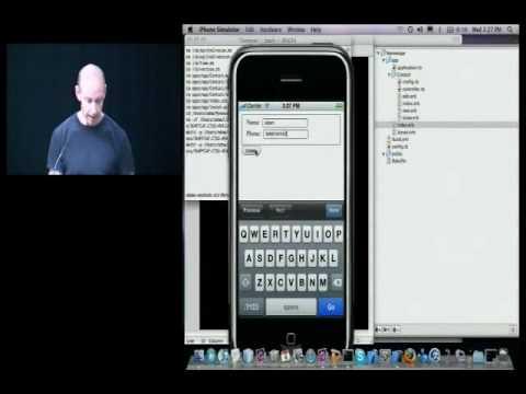 Building Crossplatform Mobile Apps with the Rhodes Framework