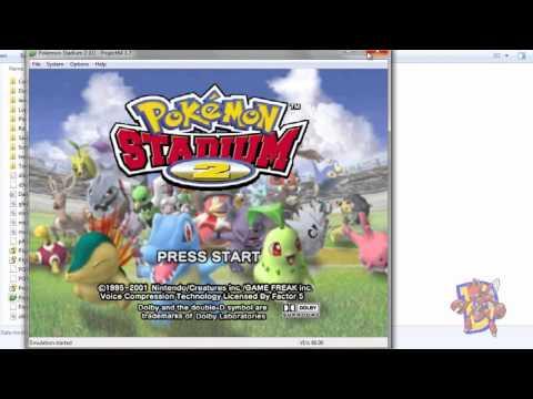 Como jugar N64 online - Pokémon Stadium 1 & 2