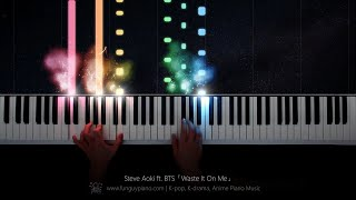 Steve Aoki ft. BTS「Waste It On Me」Piano Cover