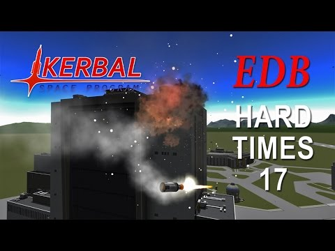 Kerbal Space Program (0.25 Stock Career) - Hard Times 17 - DRK Returns, Part 2