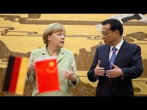 Sétima visita de Merkel à China