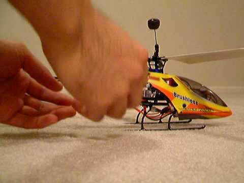 Lama V4 full brushless single rotor conversion
