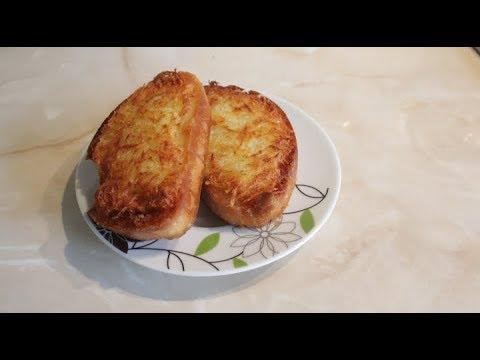Горячие бутерброды с жареным картофелем, от которых невозможно оторваться