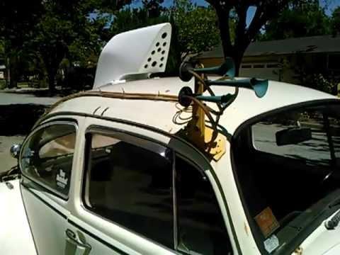 Type 4 Oil Cooler Inside Baja Bug Roof Air Scoop Part 3 - YouTube