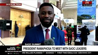 UPDATE: SADC Heads of state summit in Tanzania