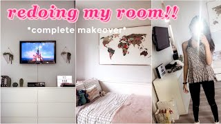 extreme room makeover!!