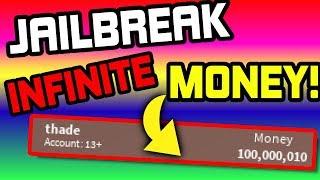 ROBLOX JAILBREAK INFINITE MONEY GLITCH (WORKING)