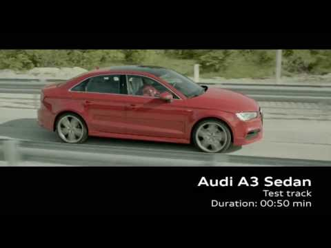 Audi A3 Sedan Production at Gyor Hungary