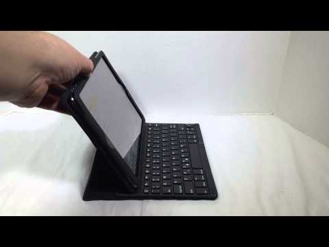 Kensington Keyfolio Pro - Folio With Keyboard For Apple iPad Air Unboxing And Review @Kensington