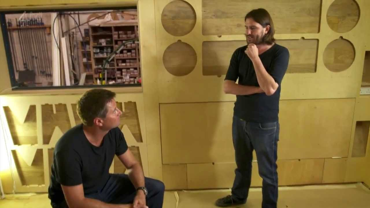 Cutting Edge Cnc Furniture For Channel 4 S Amazing Spaces