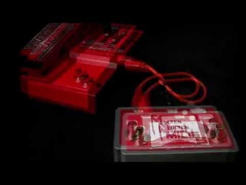 Molten MIDI 5 - programmable Digitech Whammy 5 controller by Molten Voltage