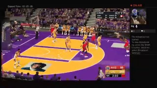 NBA2k19 Lakers vs Wizards