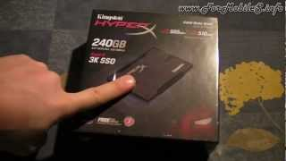 Unboxing di Kingston HyperX 3K SSD 240 GB - esclusiva italiana !
