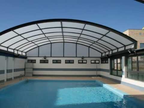 Cubiertas para piscina tecnyvan mega y techos m viles - Cubiertas para patios ...