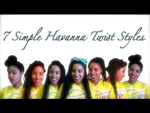 How to Style Havana Twists 7 Easy Styles!